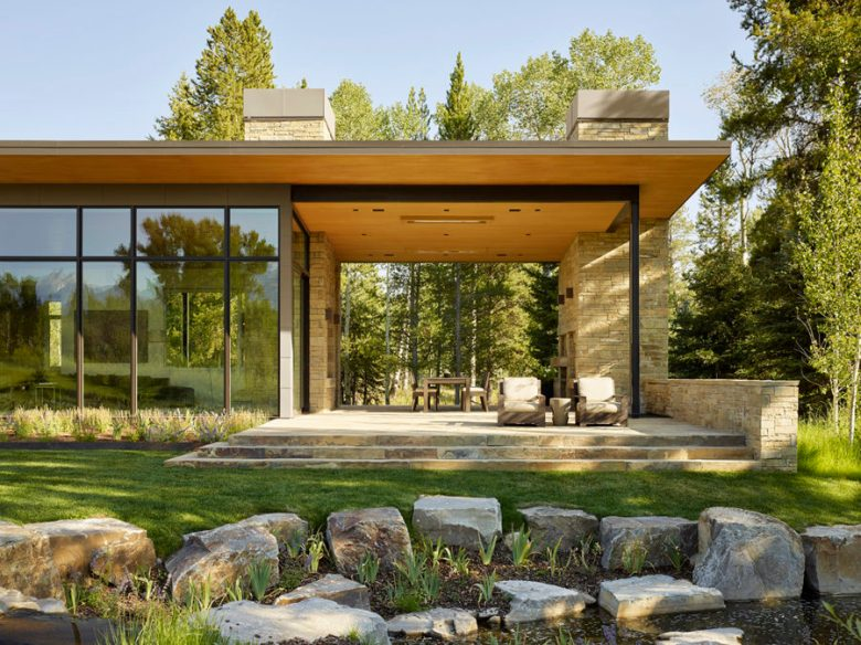 Luxurious Mountain Home Design Jackson Hole