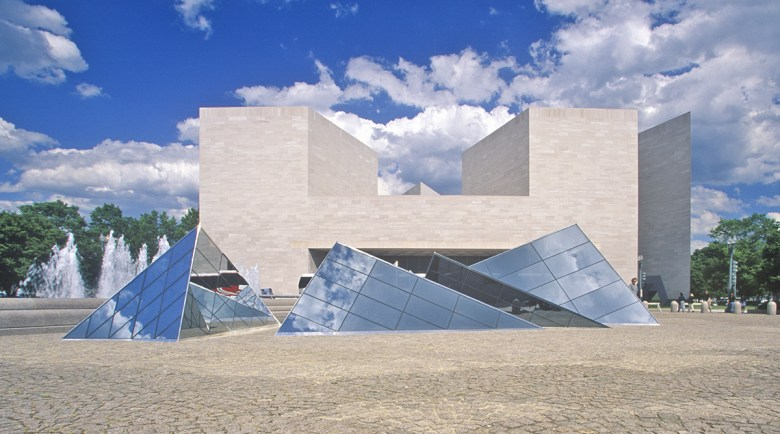 I.M. Pei National Gallery East Wing DC