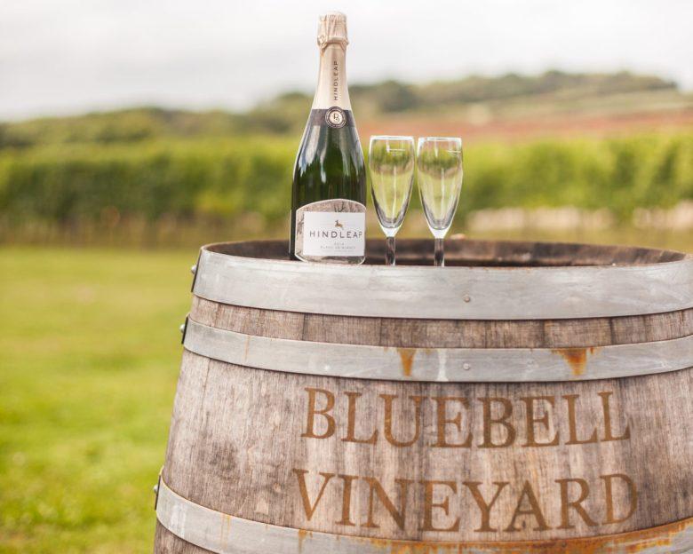 Bluebell Vineyard Estates English sparkling wine