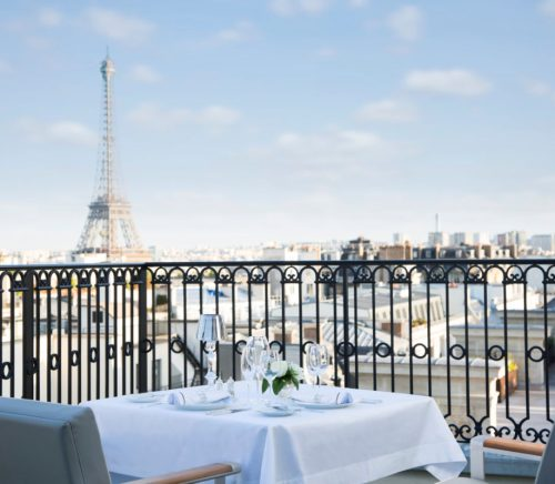 L'oisea Blanc at the Peninsula Paris
