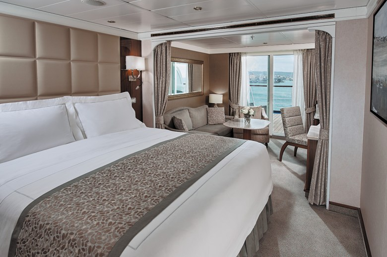 Regent Voyager Cruise Penthouse Suite