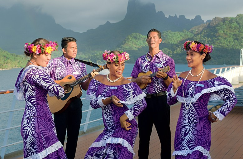 Entertainment Paul Gauguin Cruise South Pacific
