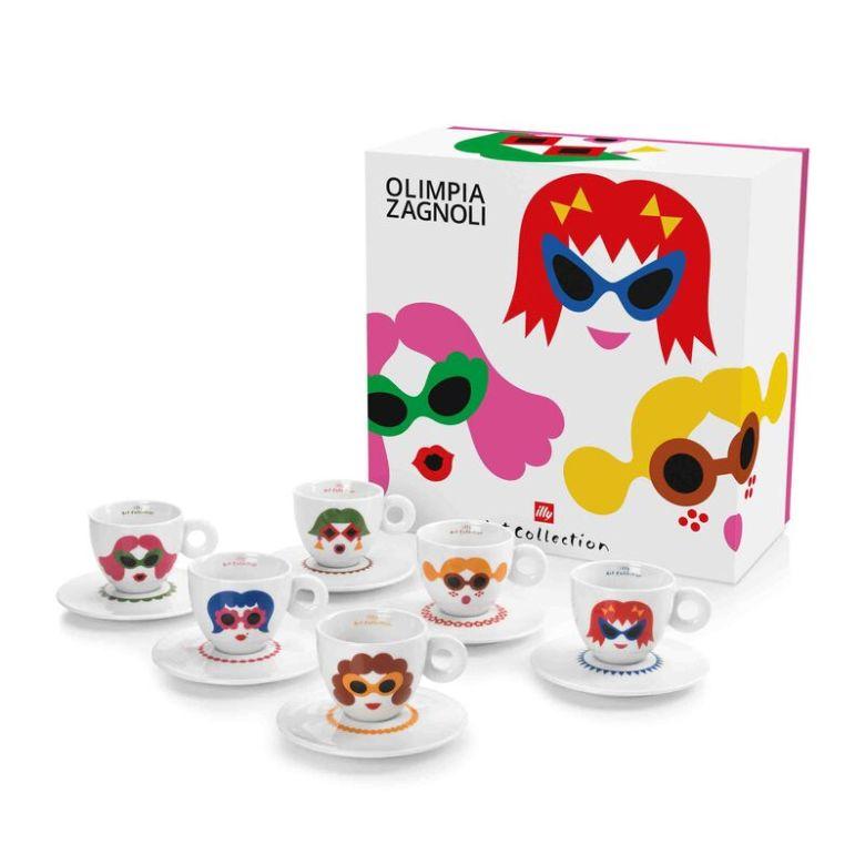 Olimpia Zagnoli espresso cups