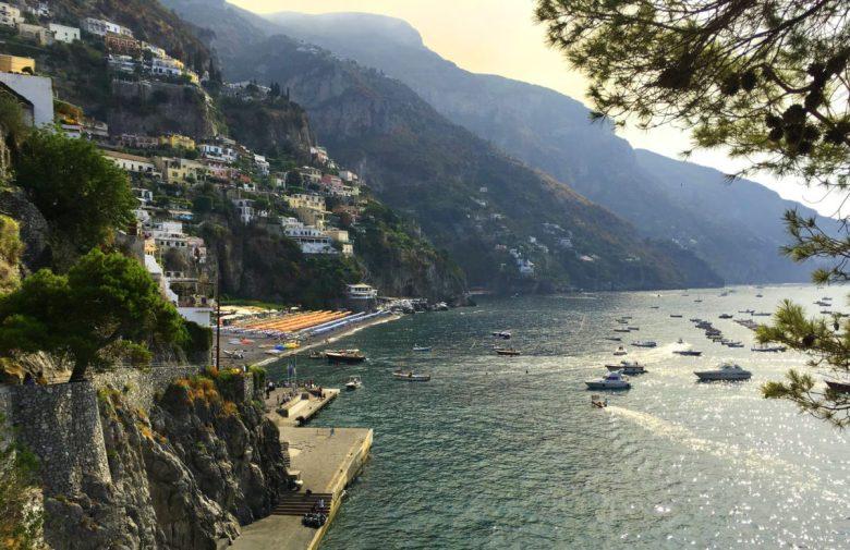 Boat Tour Positano Italy