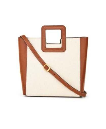 Staud Shirley Canvas & Tote