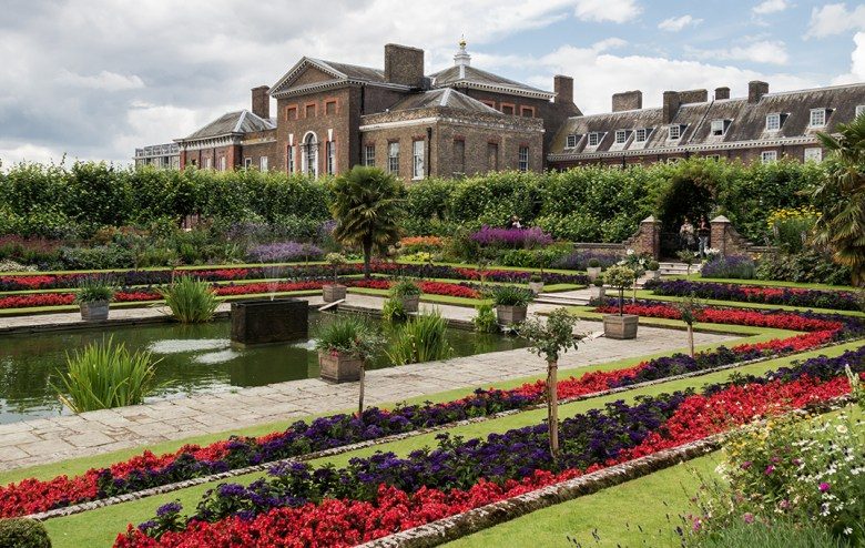 Kensington Palace Sunken Garden London