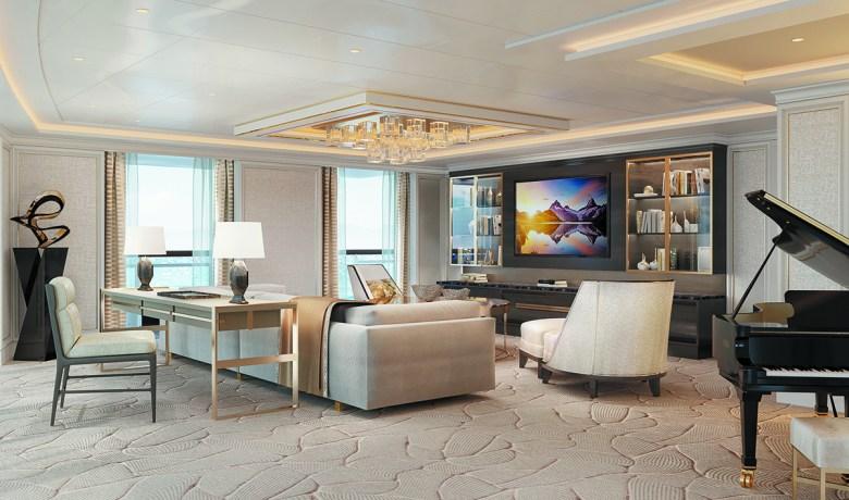 seven seas splendor suite living room
