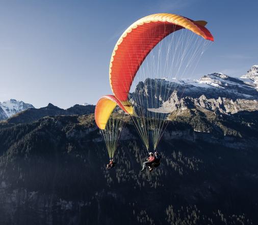 Interlaken Paragliding Switzerland