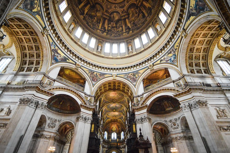 Dome at St. Paul's Cathedral London