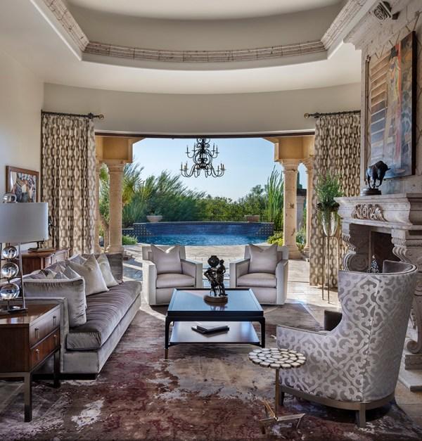 Davinder Chawla Interior Design Living Room