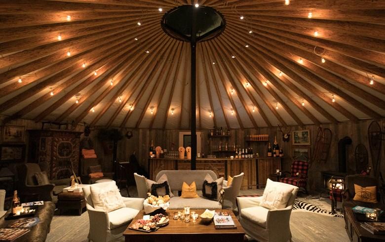 Apres lounge at Montage deer Valley UT