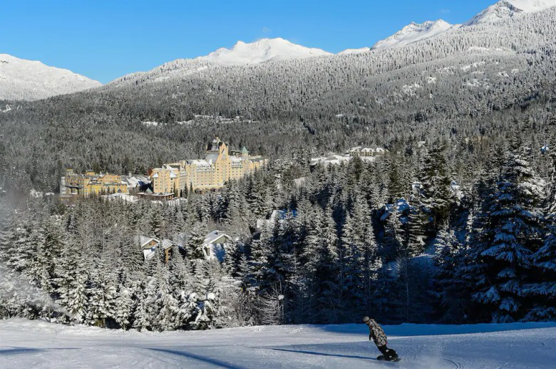 Fairmont Chateau Whistler Canada in Winter