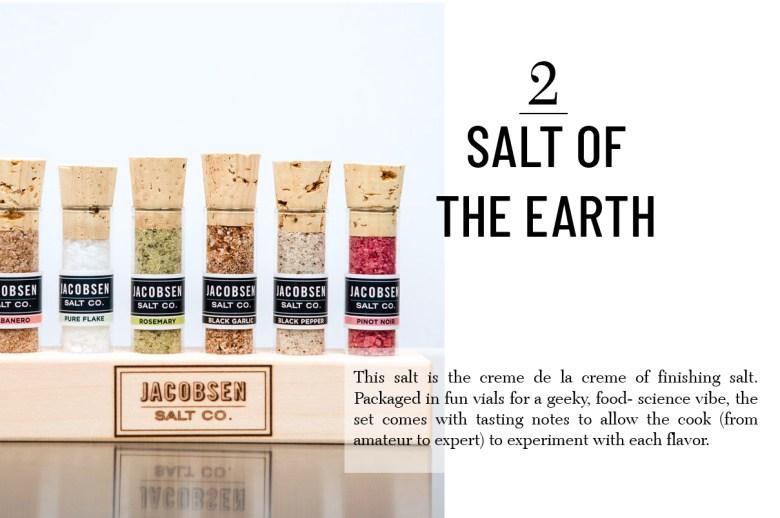 Jacobsen salt set best hostess gift for the holidays