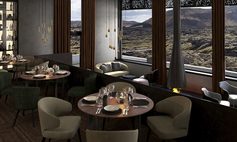 Moss Restaurant at The Retreat at Blue Lagoon Iceland
