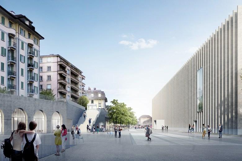 Platform 10 Art District Lausanne Switzerland