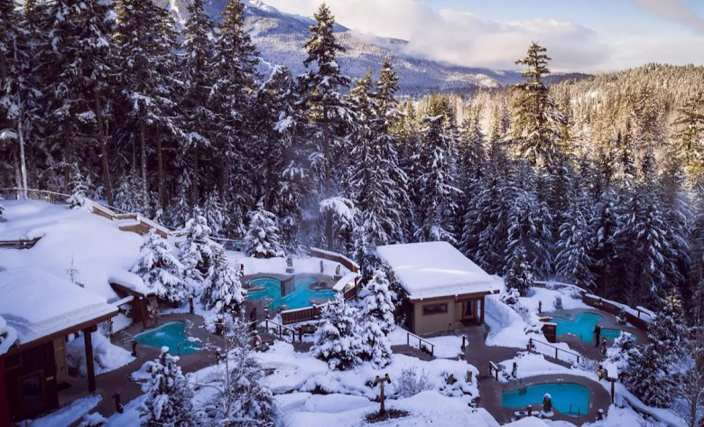 Scandinave Spa Whistler bath experience