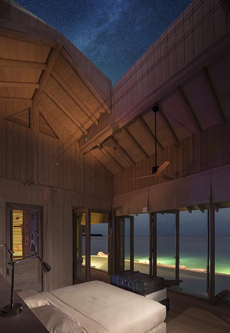 Soneva Jani best hotel for stargazing