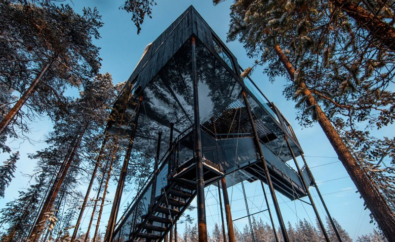 The 7th room Sweden best hotel for stargazing