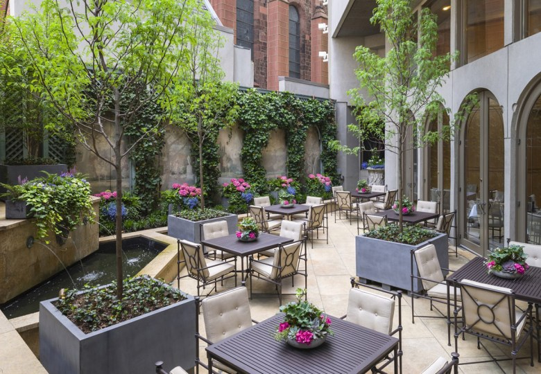 The Cassatt Garden at The Rittenhouse Hotel