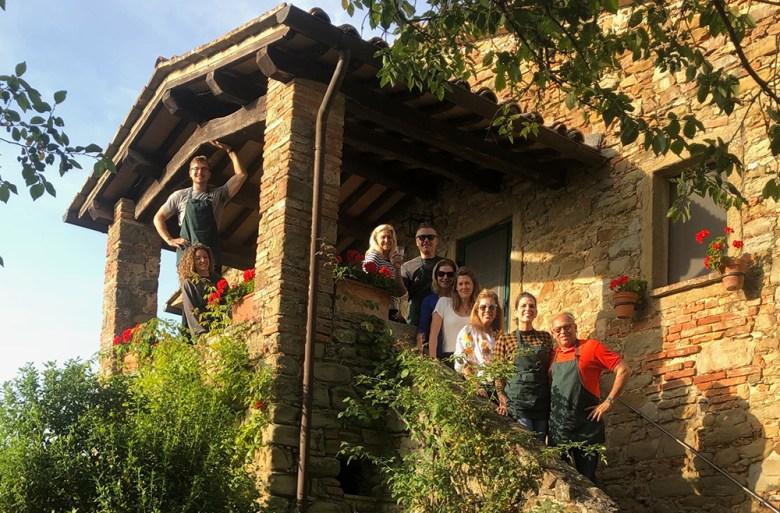 Umbria Farmhouse Tuscany Italy