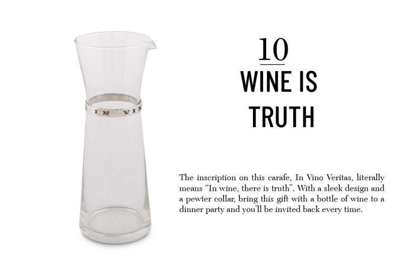 Vagabond House wine carafe best hostess gift