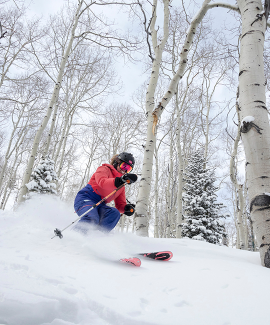 skiing at Deer Valley resort UT