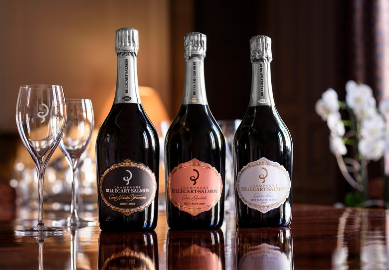 Champagne Billecart-Salmon Trio fondateurs