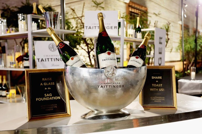 Champagne Taittinger Screen Actors Guild awards