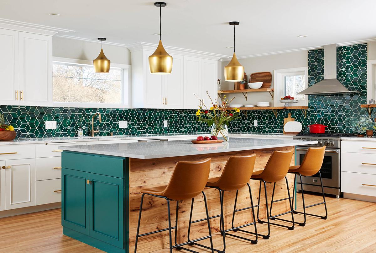 Mercury Mosaic handmake kitchen backsplash