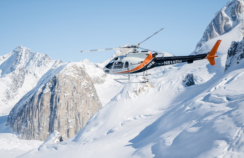 Sheldon Chalet best culinary helicopter experience