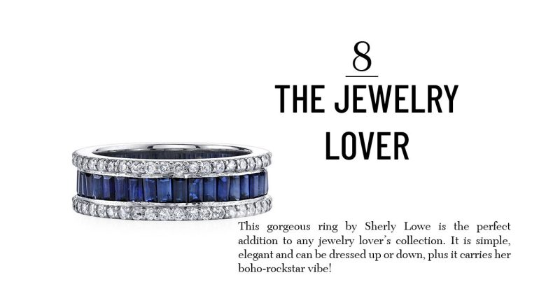 Sheryl Lowe Eternity Ring unique gift for women