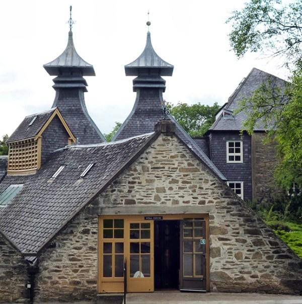 Strathisla Distillery Guys trip in Scotland