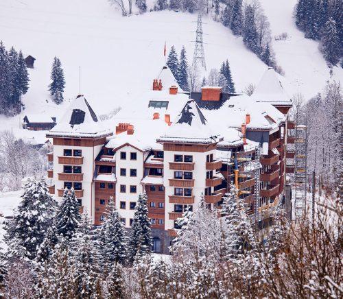 best spa at Alpina Grand Switzerland