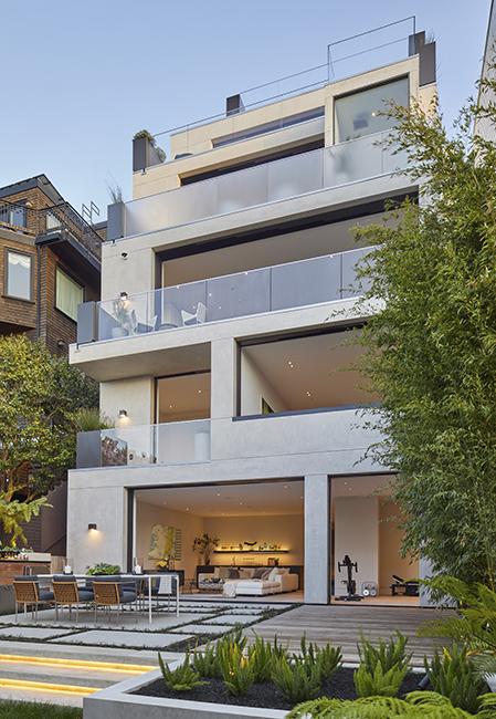 San Francisco Wellness Estate home