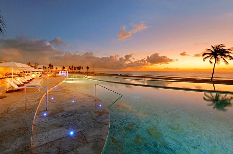 TRS Yucatan Mexico infinity pool
