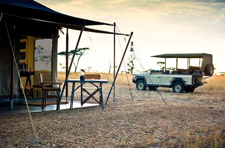 luxury african safari lodge in Tanzania