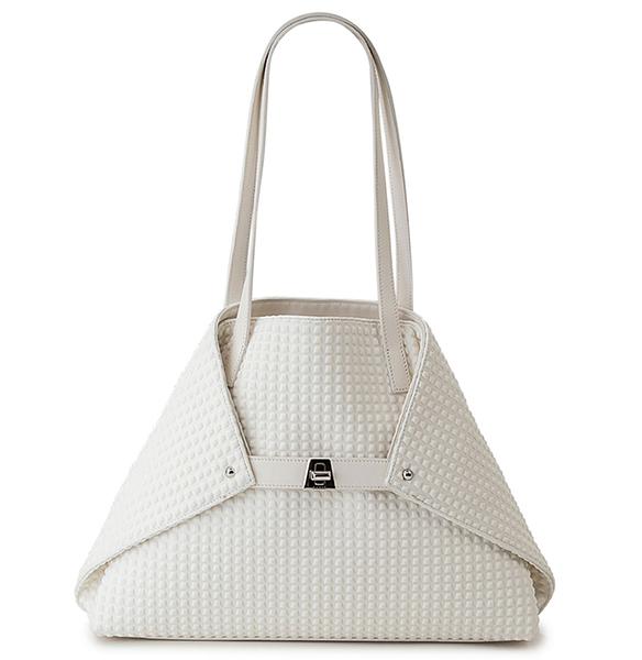 Al small trapezoid shoulder tote bag