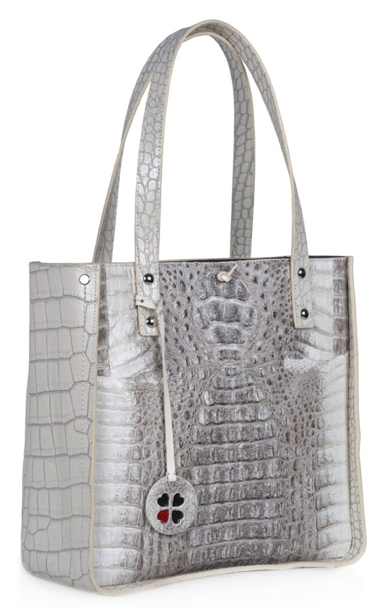 Suzan-Lee-Grey-exotic handbag
