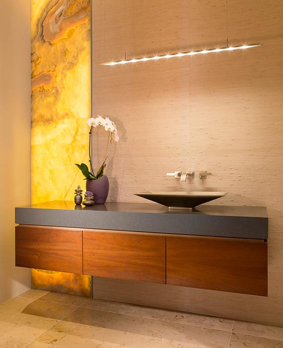 modern bathroom by IMI Design