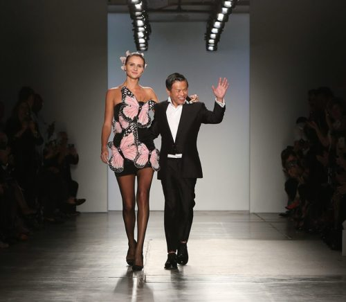Boutique fashion designer Zang Toi