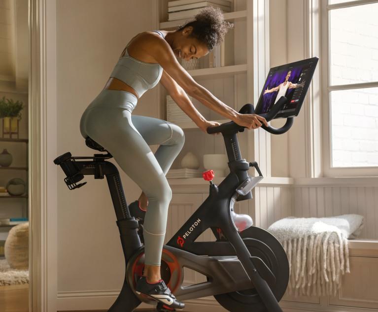 luxury fitness gear by Peloton