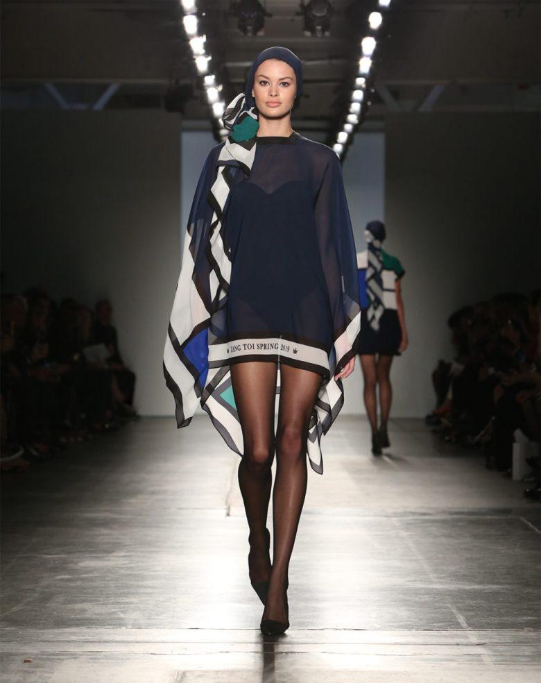modern runway fashion by Zang Toi