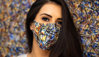 Fashion Mask Covid-19 Sarah Jane Waddel
