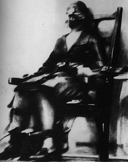 Fantastic First Woman Electric Chair Facingwalls Cjindustries Chair Design For Home Cjindustriesco