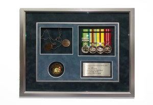 war-medal-framing