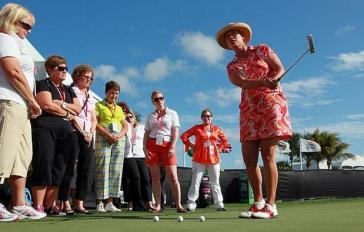 Michelle McGann, LPGA in our fire print