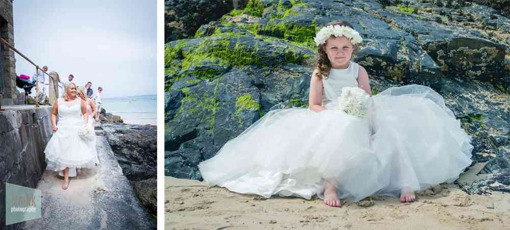 Wedding Photographer in Cornwall - St Ives Porthminster Beach