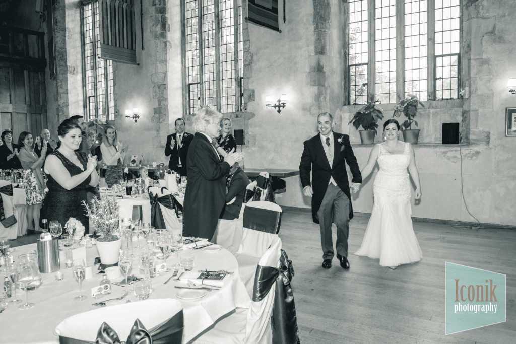 wedding reception photography at dartington hall devon