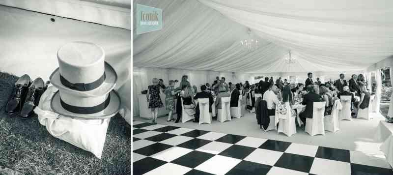 marquee wedding photography in Devon