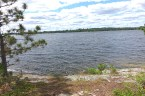 Ahh....listening point itself. There are literally dozens of islands in Burntside Lake one can see from here